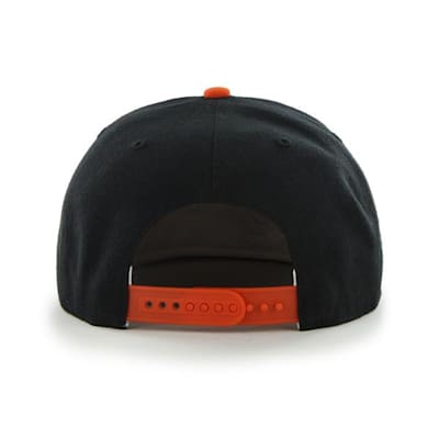 Back (47 Brand Anaheim Ducks Sure Shot Two Tone Snapback Cap)