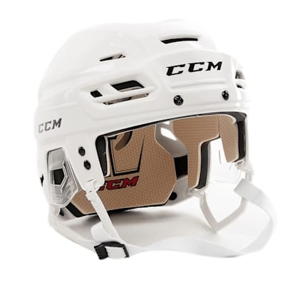 White (CCM Tacks 110 Hockey Helmet)