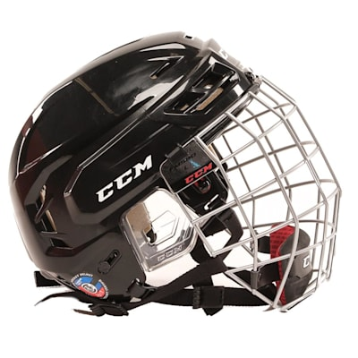 Side View (CCM Tacks 110 Hockey Helmet Combo)