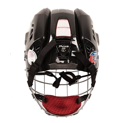 Back View (CCM Tacks 110 Hockey Helmet Combo)