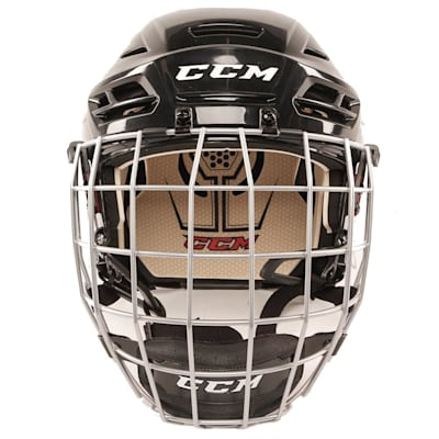 Front View (CCM Tacks 110 Hockey Helmet Combo)