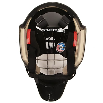 Back (Sportmask X8 Certified Goalie Mask - Senior)