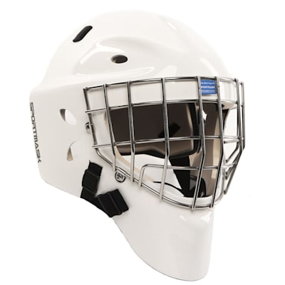 White (Sportmask X8 Certified Goalie Mask - Senior)