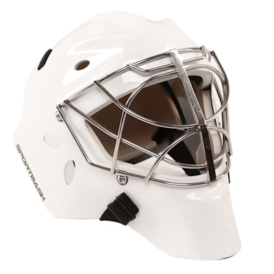 White (SportMask X8 Non-Certified Cat Eye Goalie Mask - Senior)