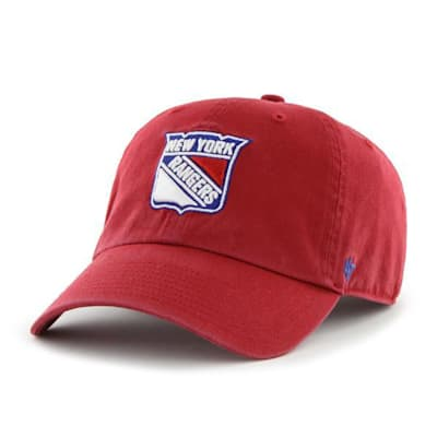 Front (47 Brand Rangers Clean Up Cap - Red)