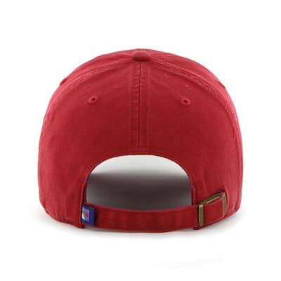 Back (47 Brand Rangers Clean Up Cap - Red)