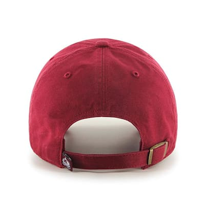 Back (47 Brand Avalanche Clean Up Cap - Cardinal Red)