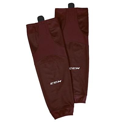 Maroon (CCM SX6000 Practice Sock - Junior)