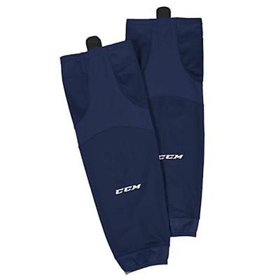 Navy (CCM SX6000 Practice Sock - Junior)