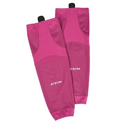 Pink (CCM SX6000 Practice Sock - Senior)