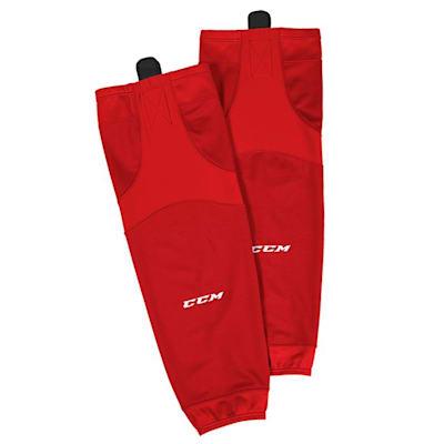 Red (CCM SX6000 Practice Sock - Senior)