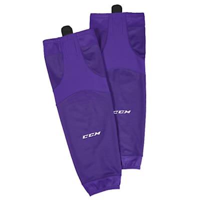 Violet (CCM SX6000 Practice Sock - Senior)