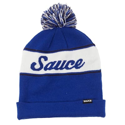 (Sauce Hockey Chicken Legs Knit Hat Navy - Adult)