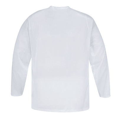 Back (CCM 5000 Practice Jersey - White - Senior)
