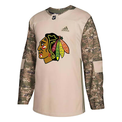 hot sale online 4cbf7 d046c Adidas Chicago Blackhawks Camo Jersey - Adult | Pure Hockey ...