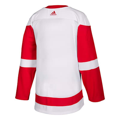 Back (Adidas NHL Detroit Red Wings Authentic Jersey - Adult)