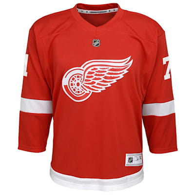 Front (Adidas Red Wings Larkin Jersey - Youth)