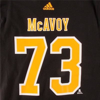 Bruins McAvoy SS Tee Black (Adidas Bruins McAvoy SS Tee Black - Mens)