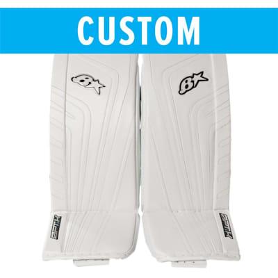 (Brians Custom OPT1K Goalie Leg Pads - Senior)