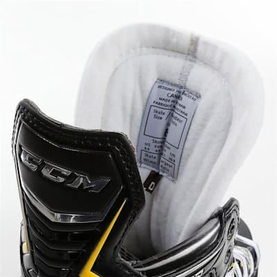 Tongue and Tendon Guard (CCM Tacks 9080 Ice Hockey Skates - Junior)