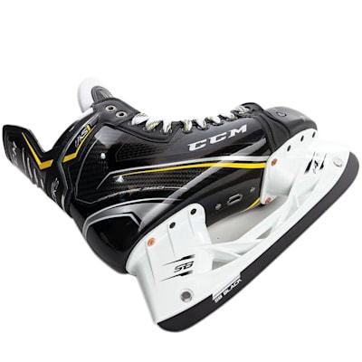 Runner and Holder (CCM Super Tacks AS1 Ice Hockey Skates - Junior)
