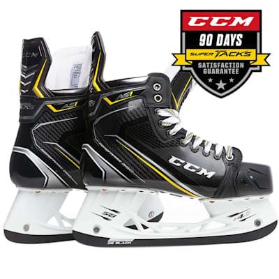 (CCM Super Tacks AS1 Ice Hockey Skates - Junior)