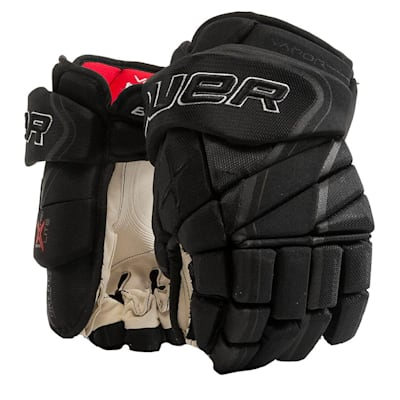 Black (Bauer Vapor 1X Lite Pro Hockey Gloves - Senior)