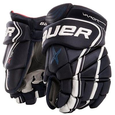 Navy (Bauer Vapor X900 Lite Hockey Gloves - Junior)