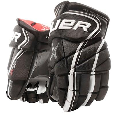 Black/White (Bauer Vapor X900 Lite Hockey Gloves - Junior)