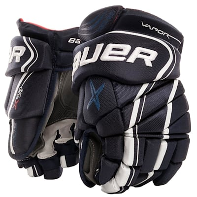 Navy (Bauer Vapor X900 Lite Hockey Gloves - Senior)