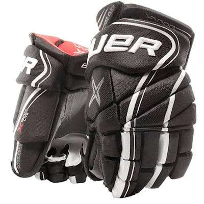 Black/White (Bauer Vapor X900 Lite Hockey Gloves - Senior)