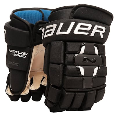 Black (Bauer Nexus N2900 Hockey Gloves - Junior)
