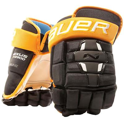 Black/Gold (Bauer Nexus N2900 Hockey Gloves - Junior)