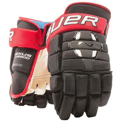 Black/Red (Bauer Nexus N2900 Hockey Gloves - Junior)