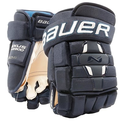 Navy (Bauer Nexus N2900 Hockey Gloves - Junior)