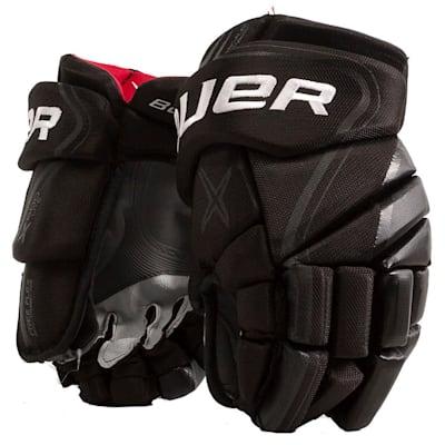 Black (Bauer Vapor X800 Lite Hockey Gloves - Junior)