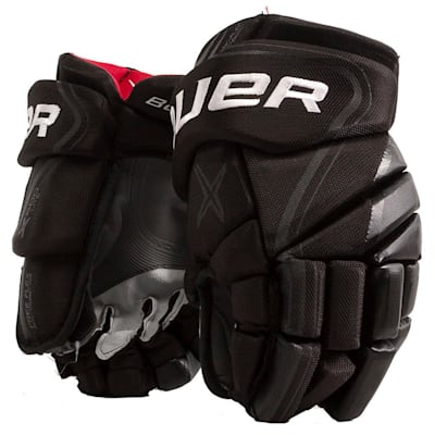 Black (Bauer Vapor X800 Lite Hockey Gloves - Senior)