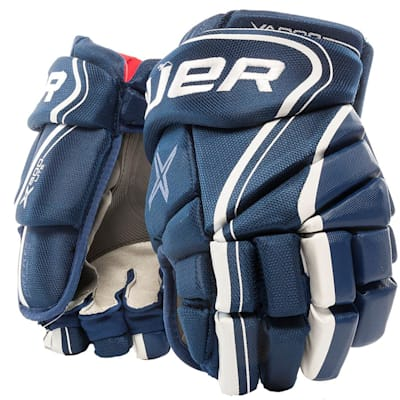 Blue (Bauer Vapor X800 Lite Hockey Gloves - Senior)