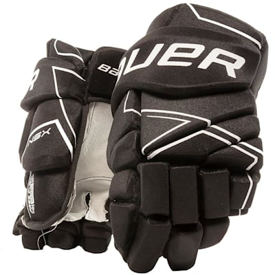 Black (Bauer NSX Hockey Gloves - Senior)