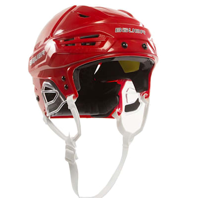 Red (Bauer Re-Akt 95 Hockey Helmet)