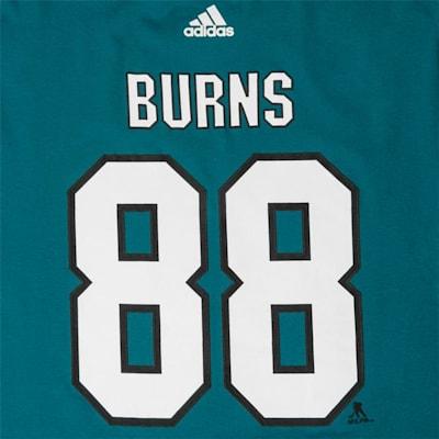 Sharks Burns Youth Tee (Adidas Sharks Burns Youth Tee - Youth)