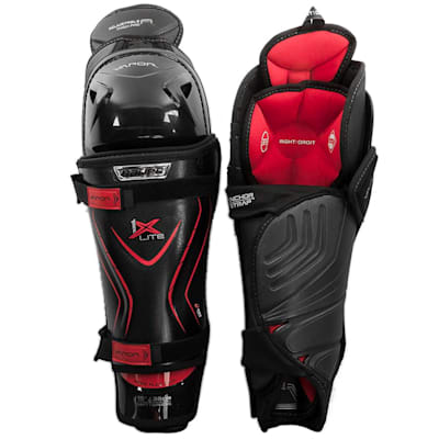(Bauer Vapor 1X Lite Hockey Shin Guards - Junior)
