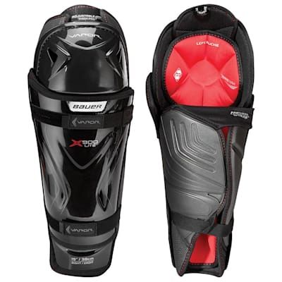 (Bauer Vapor X900 Lite Hockey Shin Guards - Junior)
