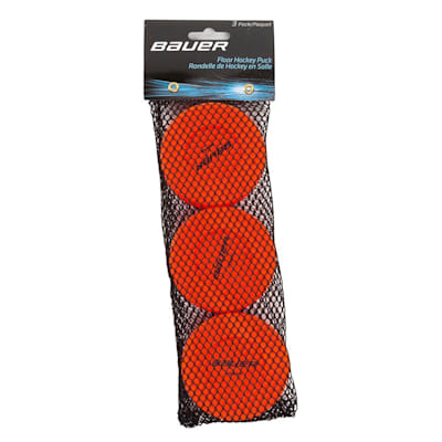 Orange (Bauer Floor Hockey Pucks)