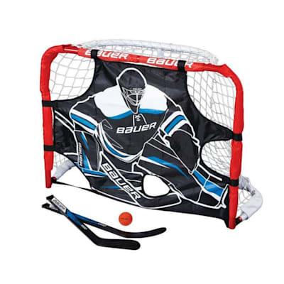 (Bauer Pro Knee Hockey Goal Set)