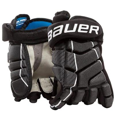 (Bauer Pro Player Street Hockey Glove - Junior)