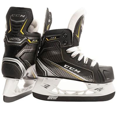 (CCM Super Tacks AS1 Youth Ice Hockey Skates - Youth)