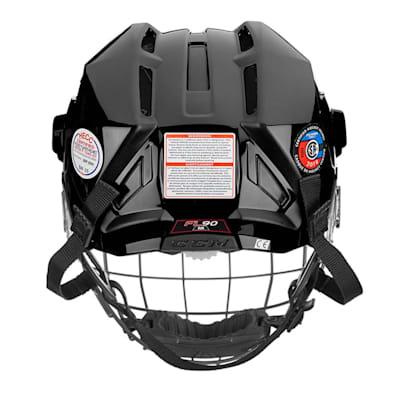 (CCM Fitlite FL90 Hockey Helmet Combo)