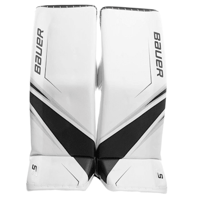 White/Black (Bauer Supreme 2S Pro Goalie Leg Pads - Senior)