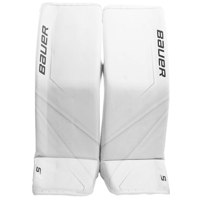 White/White (Bauer Supreme 2S Pro Goalie Leg Pads - Senior)
